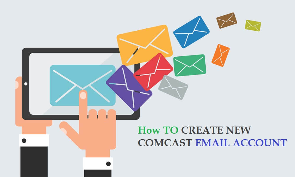 sign up comcast email account