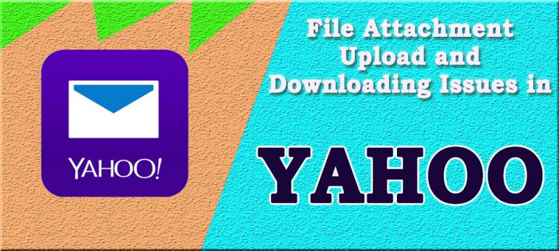 Trouble downloading an attachment in Yahoo