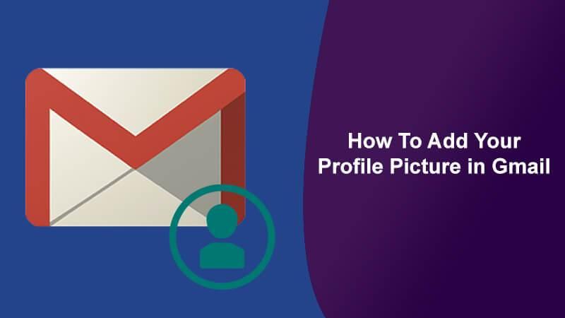 add gmail profile picture