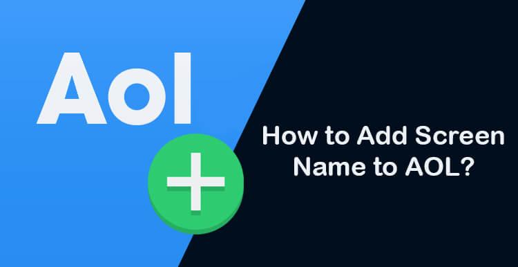 add-screen-name-to-AOL