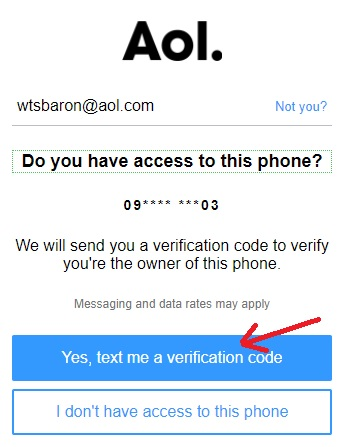 aol-password-verification-code