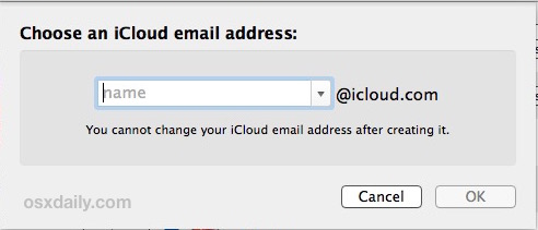 choose-create-new-icloud-com-email-address