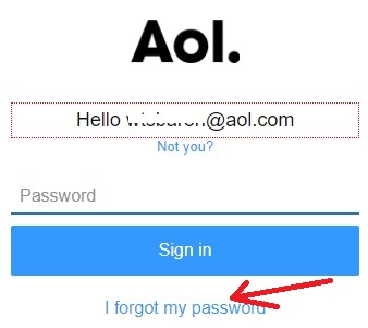 i-forgot-my-aol-password