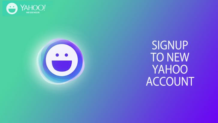 sign up yahoo account